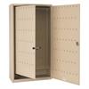 FOB Key Cabinet, 130-Key, Steel, Sand