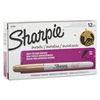 Sharpie Metallic Permanent Markers, Gold, Dozen