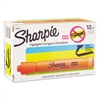 Sharpie Accent Tank Style Highlighter, Chisel Tip, Orange, Dozen