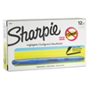 Sharpie Accent Pocket Style Highlighter, Chisel Tip, Light Blue, Dozen