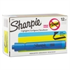 Sharpie Accent Tank Style Highlighter, Chisel Tip, Blue, Dozen