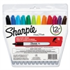 Sharpie Fine Point Permanent Marker, Assorted, 12/Set