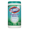 Clorox Disinfecting Wipes, Fresh Scent, 7 x 8, White, 75/Canister, 6 Canisters/Carton