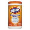 Disinfecting Wipes, 7 x 8, Orange Fusion, 75/Canister