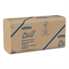 Scott Multi-Fold Towels, 100% Recycled, 9 1/5x9 2/5, Natural, 250/Pack, 16 Pk/Carton
