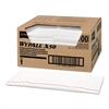 X50 Foodservice Towels, 1/4 Fold, 23 1/2 x 12 1/2, White, 200/Carton