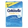 Cottonelle Fresh Care Flushable Cleansing Cloths, White, 3.73 x 5.5, 84/Pack
