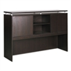 Alera Alera Sedina Series Hutch with Sliding Doors, 66w x 15d x 42 1/2h, Espresso