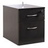 Alera Alera Sedina Series Hanging Box/File Pedestal, 15 3/8w x 22d x 19h, Espresso