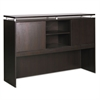 Alera Alera Sedina Series Hutch with Sliding Doors, 72w x 15d x 42 1/2h, Espresso