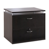 Alera Alera Sedina Series Two Drawer Lateral File, 34 1/4w x 22d x 29 1/2h, Espresso