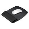 I-Spire Wrist Rocker Mouse Pad w/Wrist Rest, 7 13/16 x 10 x 1 1/16, Black/Gray