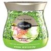 Renuzit Pearl Scents Odor Neutralizer, Sparkling Rain, 9 oz Jar, 8/Carton