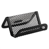 Mesh Business Card Holder, Capacity 50 2 1/4 x 4 Cards, Black