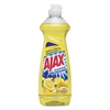 Ajax Dish Detergent, Lemon Scent, 12.6 oz Bottle, 20/Carton