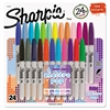 Sharpie Fine Electro Pop Marker, Fine Point, Assorted, 24/Pack