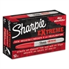 Sharpie Extreme Marker, Fine Point, Red, Dozen