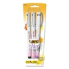 BIC Bic For Her Marker Pen, 0.5mm, Fine, Black/Pink/Purple, 0.5mm, 3/Pack