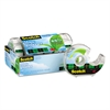 "Scotch Magic Greener Tape in Refillable Dispenser, 3/4"" x 600"", 1"" Core, 6/Pack"
