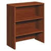 10700 Series Bookcase Hutch, 32 5/8w x 14 5/8d x 37 1/8h, Cognac