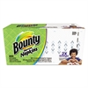 Bounty Quilted Napkins, 1-Ply, 12 1/10 x 12, White, 200/Pack, 12 Packs per Carton