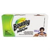 Bounty Quilted Napkins, 1-Ply, 12.1 x 12, White, 100/Pack