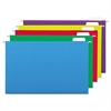 Universal Hanging File Folders, 1/5 Tab, 11 Point, Legal, Assorted Colors, 25/Box