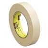 "Scotch General Purpose Masking Tape 234, 18mm x 55m, 3"" Core, Tan"