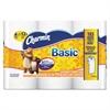 Charmin Basic Bathroom Tissue, White, 264/Roll, 6 Roll/Pack, 8 Pk/Ctn
