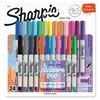 Sharpie Ultra Fine Electro Pop Marker, Assorted Colors, 24/Set