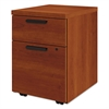 "Box/File Mobile Pedestal for 10500/10700 Shells, 21 7/8"" High, Cognac"