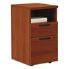 "Shelf/Box/File Mobile Pedestal for 10500/10700 Shells, 28"" High, Cognac"