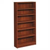 1870 Series Bookcase, Six Shelf, 36w x 11 1/2d x 72 5/8h, Cognac