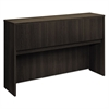 basyx Laminate Hutch With Four Doors, 60w x 14 5/8d x 37 1/8h, Espresso