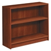 HON 1870 Series Bookcase, Two Shelf, 36w x 11 1/2d x 29 7/8h, Cognac
