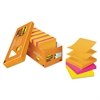 Post-it Pop-up 3 x 3 Note Refill, Rio de Janeiro, 90-Sheet, 18/Pack
