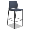Accommodate™ Series Armless Café Stool, Cerulean Fabric