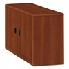 HON 10700 Series Locking Storage Cabinet, 36w x 20d x 29 1/2h, Cognac