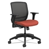 Quotient Series Mesh Mid-Back Task Chair, Poppy