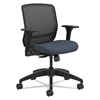 Quotient Series Mesh Mid-Back Task Chair, Cerulean