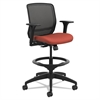 Quotient Series Mesh Mid-Back Task Stool, Poppy