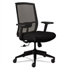 Mayline Gist Multi-Purpose Chair, Black/Silver