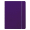 Filofax Notebook, College Rule, Blue Cover, 8 1/4 x 5 13/16, 112 Sheets/Pad