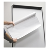 Universal Super Value Unruled Easel Pad Roll, Unruled, 27 x 30, 50 Sheets, 4/Pack