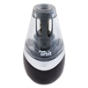iPoint iPoint Orbit Pencil Sharpener, Black/Silver, 2 3/4w x 2 3/4d x 5 1/4h