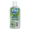 Dial Professional Antibacterial Gel Hand Sanitizer with Moisturizers, 4 oz Flip-Top Bottle, 24/Ctn