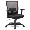 Alera Envy Series Mesh Mid-Back Swivel/Tilt Chair, Black