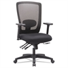 Alera Alera Envy Series Mesh High-Back Multifunction Chair, Black