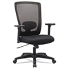 Envy Series Mesh High-Back Swivel/Tilt Chair, Black