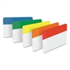 File Tabs, 2 x 1 1/2, Assorted Primary, 30/Pack